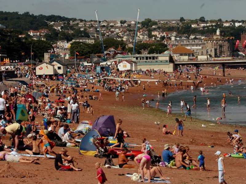 paignton Sands beach